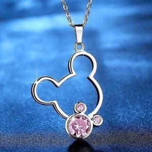 Mickey necklace women/girls